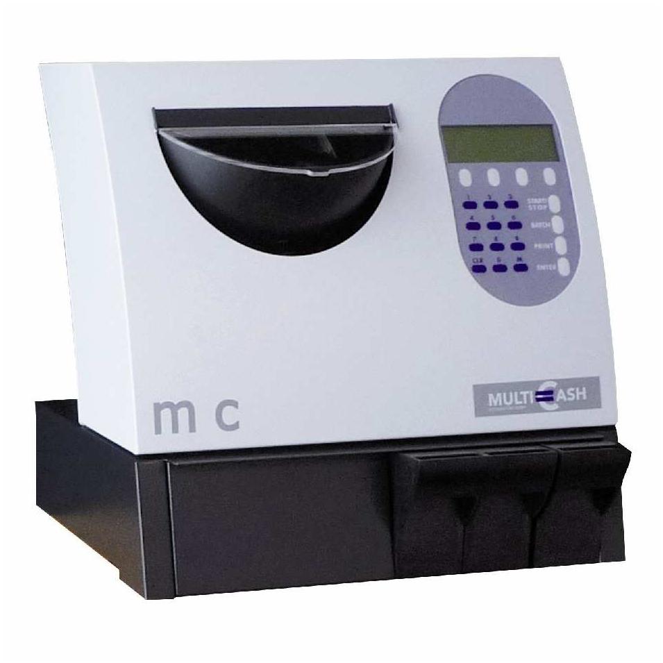 Multicash MC 1/2. Das flexible Zählsystem der Ecoin 2000 GmbH aus Hamburg