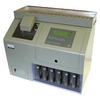 PRC-310. Die Münzsortier- und Zählmaschine der Ecoin 2000 GmbH aus Hamburg