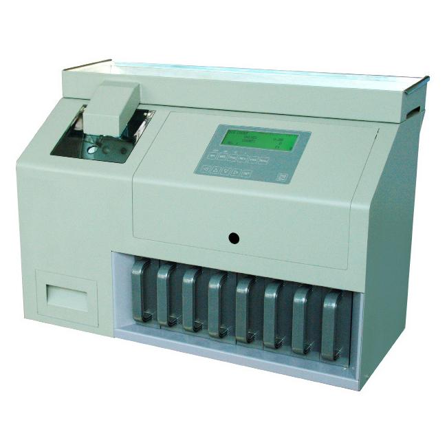 PRC-330. Die Münzzähl- und Sortiermaschine der Ecoin 2000 GmbH aus Hamburg